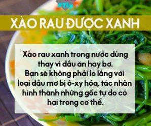 6 cấm kỵ phải biết khi ăn các loại rau